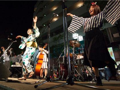 JAZZ DE 盆踊りイメージ