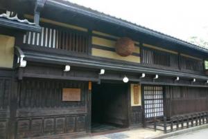 日本の古民家「吉島家」町家