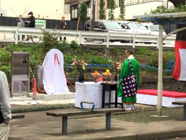 第10代横浜市長として関東大震災からの復興事業や区制施行で横浜の礎を築いた有吉忠一の記念碑が川崎にできたとか。なぜ川崎なの?(てんぱれさんのキニナル)