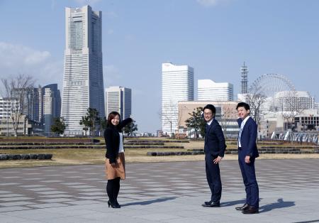 みなとみらいの景色がTHE横浜