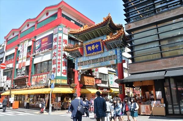 横浜中華街 観光客に人気の食べ歩き