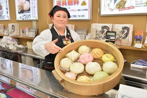 中華街の江戸清 食べ歩きにおすすめ