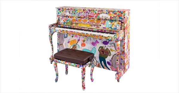 ストリートピアノ「LovePiano」