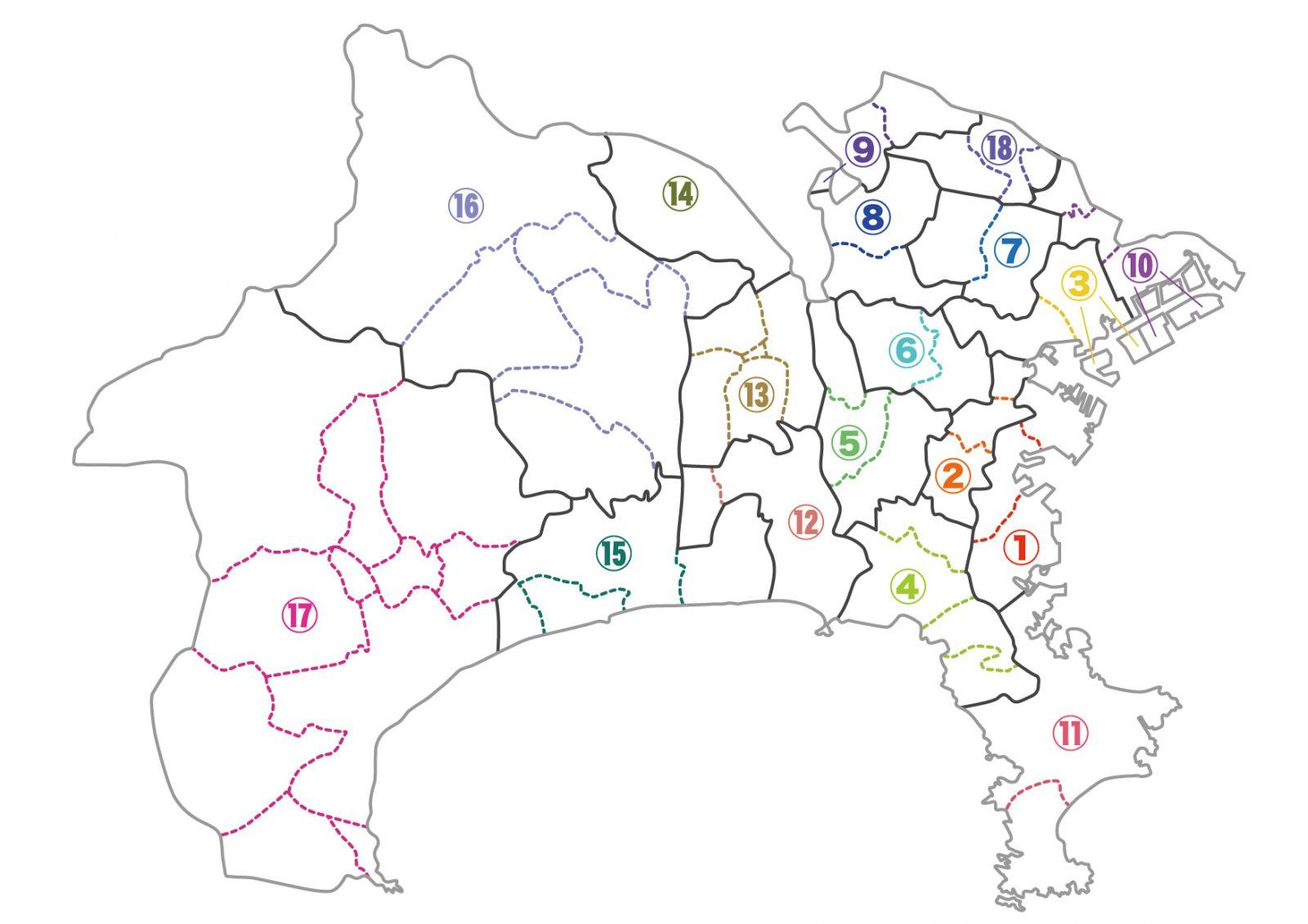 衆院選2017】神奈川県選挙区候補...