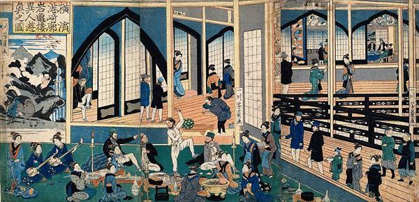 横浜公園水琴窟の謎から浮世絵で港崎遊郭の歴史を紐解く - [はまれぽ ...