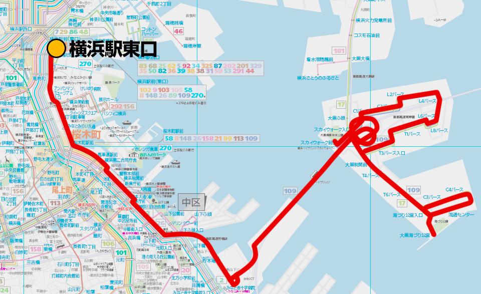バス 路線 図 横浜 時刻 表 市営